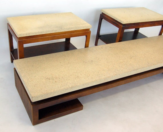 Vintage Paul Frankl for Johnson Furniture pany Mahogany and