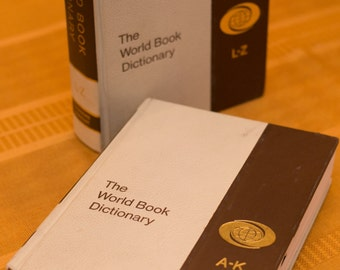 The World Book Dictionary, Complete Set, 1972
