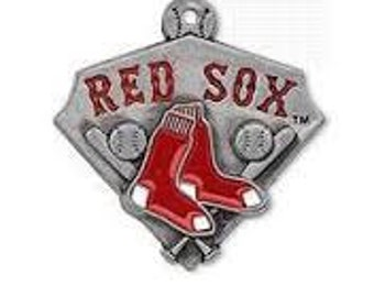 Boston Redsox Baseball Charm