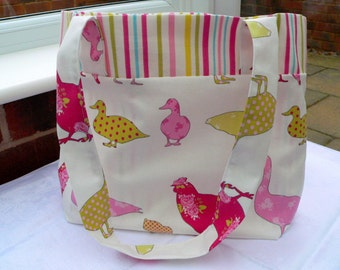 Chicken & Chicks Tote Bag - ** SALE**