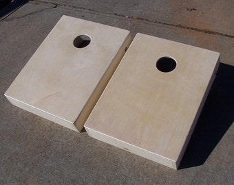 Mini Cornhole boards with bags and clear coat. ( Marked down this weekend only )