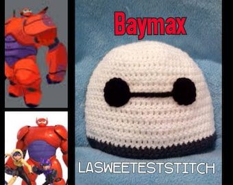Big Hero 6 Baymax inspired hat