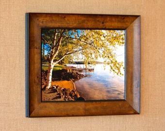 The Laker ~ Lake Winnipesaukee, New Hampshire, Meredith Bay, Lake Photos, Lake Winni Photos, Earth Tones, Birch Tree, Gift