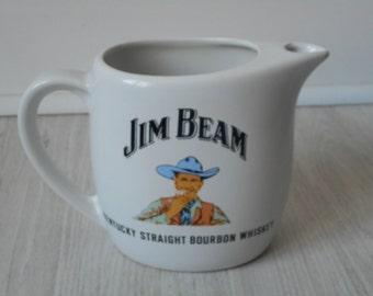 vintage Jim Beam porcelain decorative water jug made in France