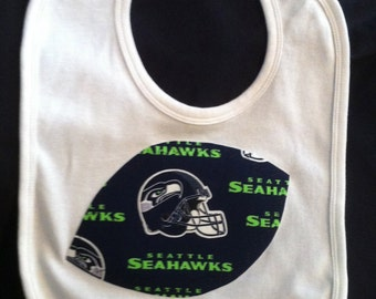 Seattle Seahawks Baby Bib