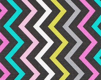 Michael Miller Orchid Multicolored Zigzag Fabric