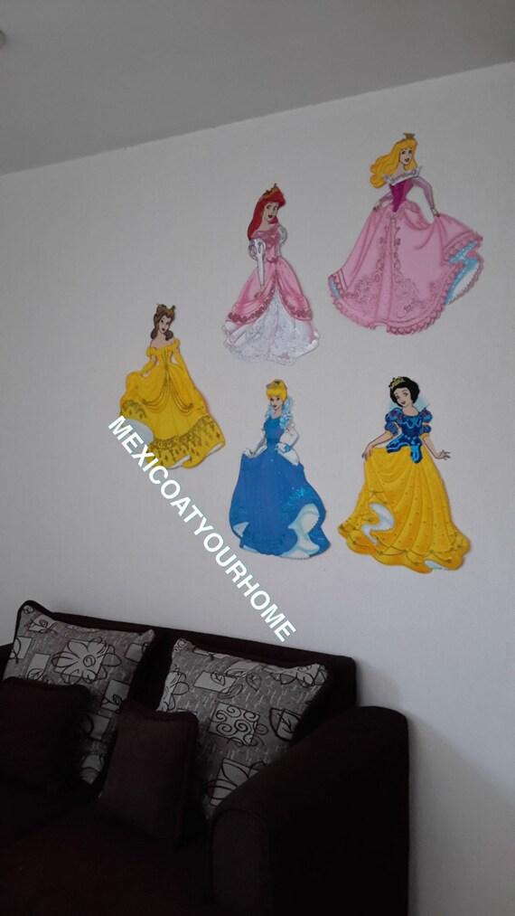 5 disney princess party big wall decorative princess birthday - Princess party wall decorations ...