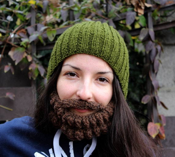 Crochet Dwarf Beard Hat Pattern : Items similar to PATTERN ? Crochet beanie