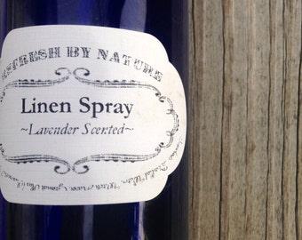 Linen Spray:  8 oz.