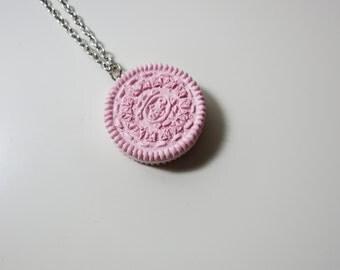 Necklace - Ultra Light Pink Oreo