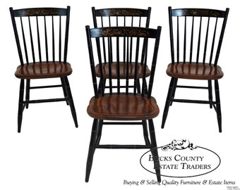 Items Similar To Four L Hitchcock Stenciled Chairs On Etsy