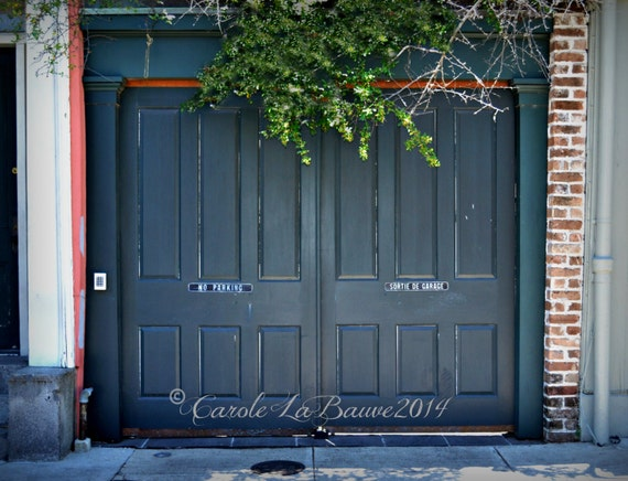NEW ORLEANS STREETSCAPE ~ No Parking ~ Photography ~ Doors of New Orleans