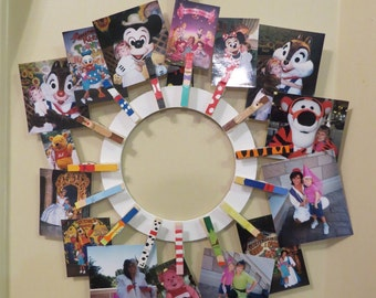 Disney Inspired ClothesPin Frame