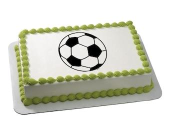 Edible Image Soccer Ball