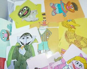 vintage Children's Card game muppets 1981
