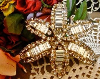 Vintage Star Pin Brooch