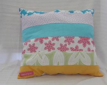 Bright and Cheery Throw cushion, 33x29cm