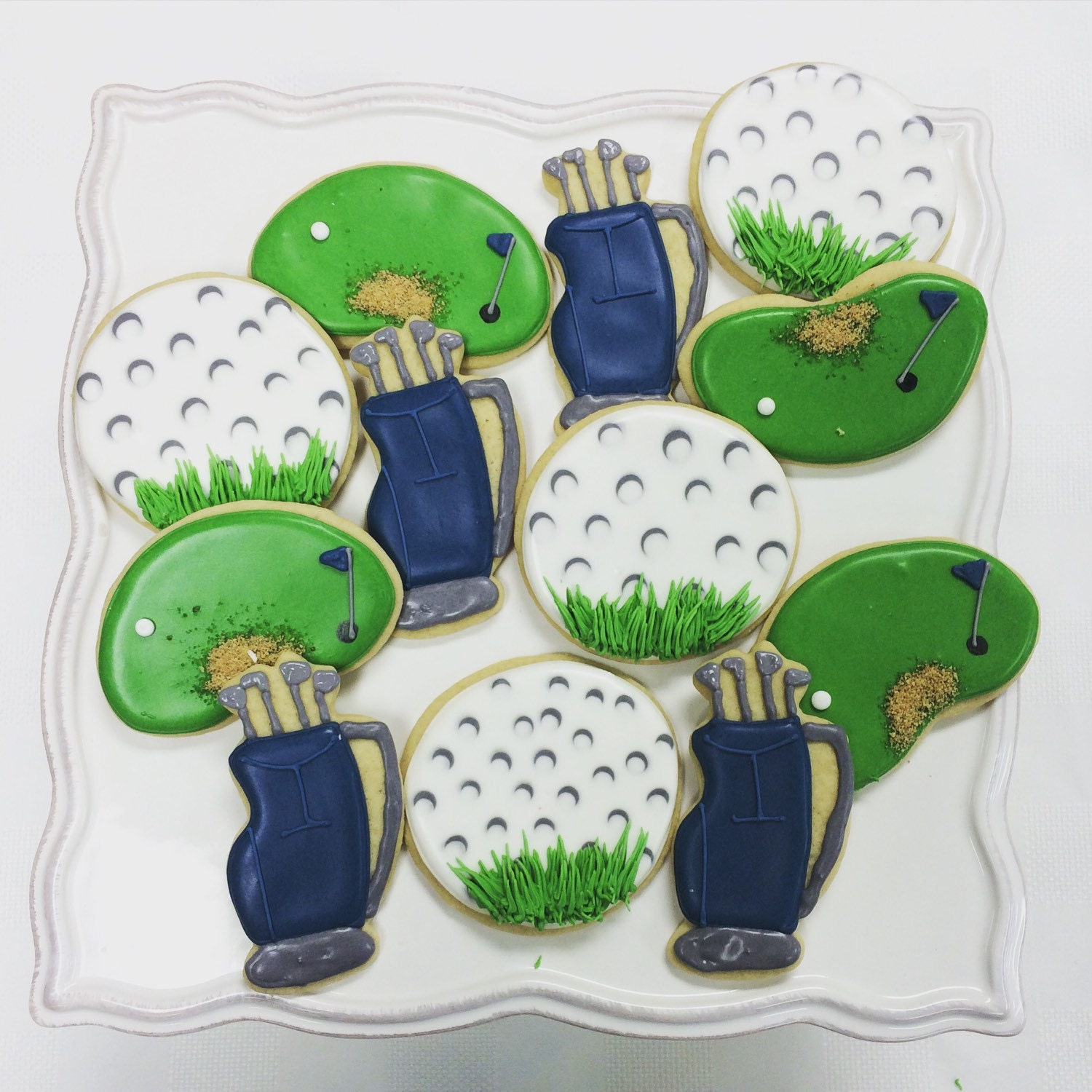 Winter Themed Cookie, Baby Shower Cookies
