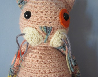 Sir Dennis cat amigurumi soft toy