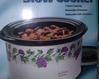 sunbeam  1 Quart slow cooker