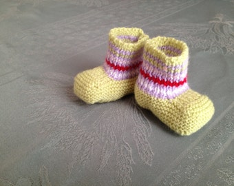 multicolored baby shoes