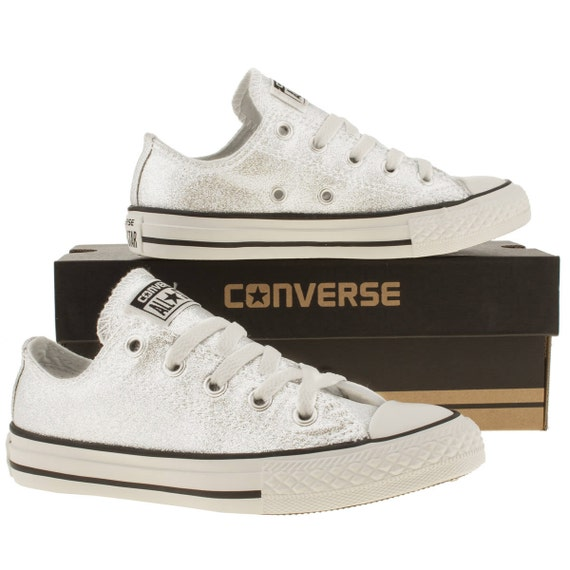 converse shoes converse white glitter wedding converse low top
