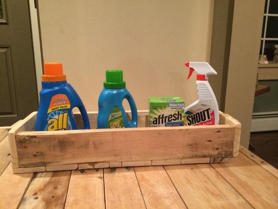 Laundry Tray : Tray, Laundry Soap Tray, Rustic Tray, Primitive Tray, Handmade Tray ...