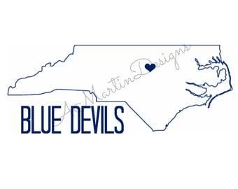 Blue Devils Duke University Wall Art
