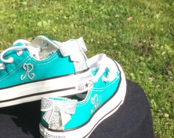 Baby Bling Bow Shoes~ Toddler to Adult Sizes made to order