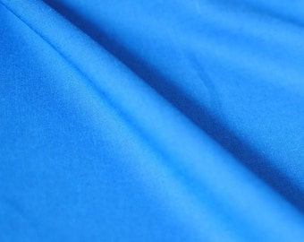 Japanese Fabric Neon Chambrey Blue