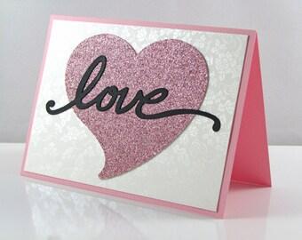 LOVE Card, Blank Inside