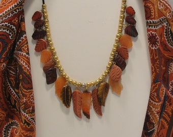 Autumn Leaves Necklace only