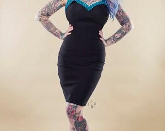Leopard Print 50s Wiggle dress