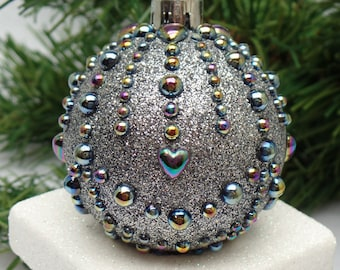 Pretty Crown Jewels Christmas Ornament