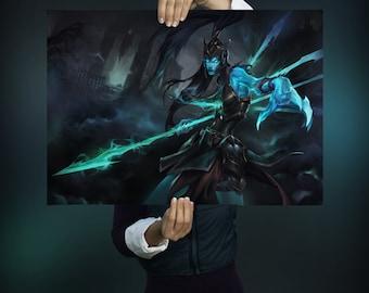 League Of Legends Kalista Poster