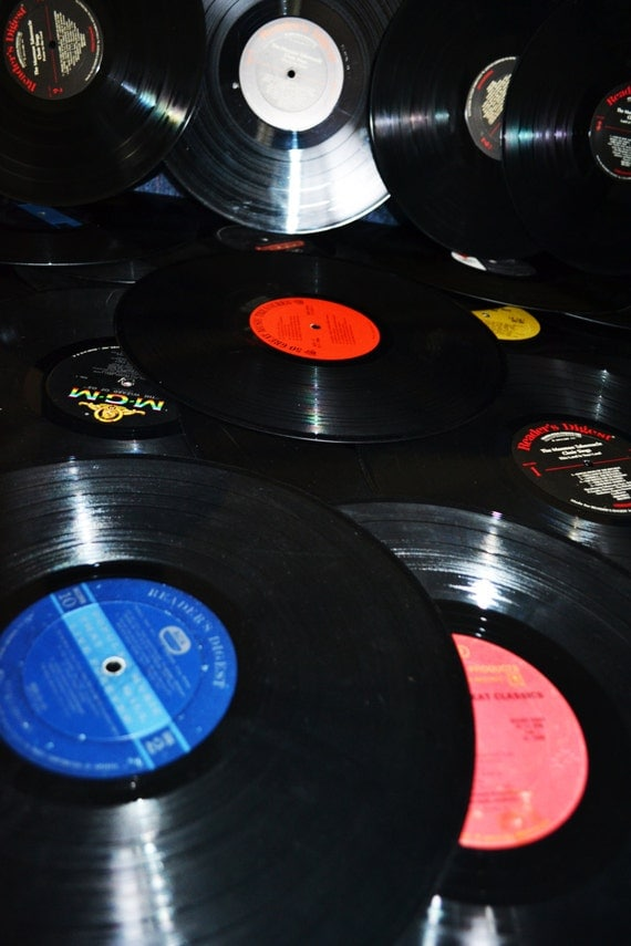 Vinyl records 50 arts and crafts 12 inches by eventsmatters for Vinyl records arts and crafts
