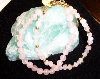 Rose Quartz Bracelet!