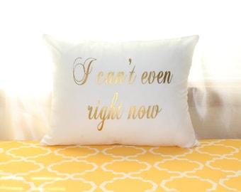 I cant even lumbar pillow case, lumbar pillow cover