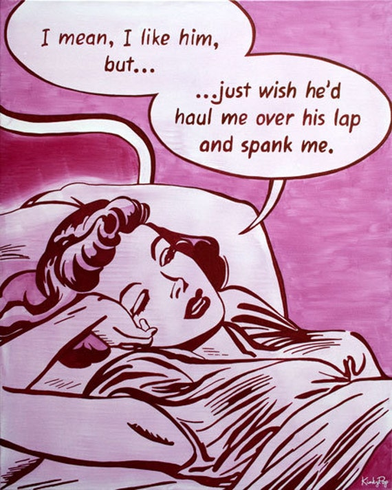 He would spank me
