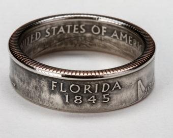 Florida State Quarter Ring
