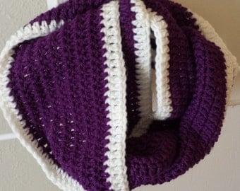 Crochet Infinity Scarf, Infinity Scarf, Crochet Scarf, Handmade Scarf, Fall Scarf, Winter Scarf