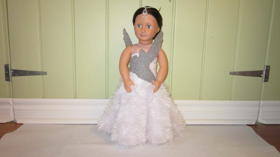 Katniss Everdeen Wedding Gown for American Girl Doll