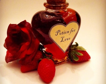 Traditional Love Potion: one of a kind, vegan and all natural.
