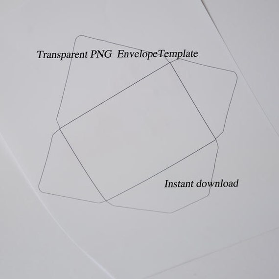 Easy Envelope Template! 6x4 inch envelope template download ...