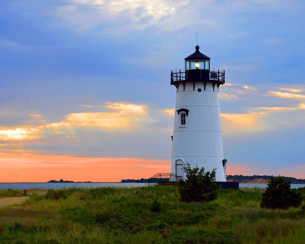 Edgartown Lighthouse Fine Art Photography Wall Photo Print