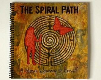 Square Spiral Bound Art Journal