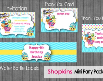 Shopkins Mini Party Package