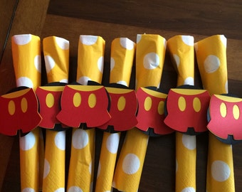 Mickey Mouse Silverware- pack of 12