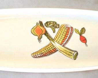 1950s crown devon panach serving platter panache pattern