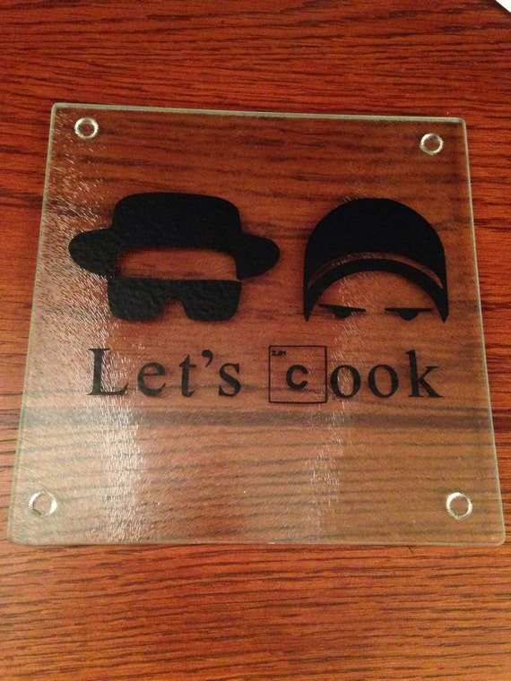 Breaking Bad Decorative Glass Cutting Board X